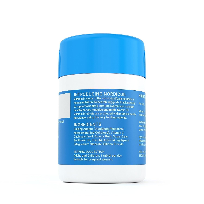 Vitamina D3 2.500 IU - 60 comprimidos vegetarianos, producto alemán de calidad: Amazon.es: Salud y cuidado personal