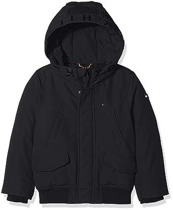 Tommy Hilfiger Arctic Hooded Bomber Jacket, Chaqueta para Niños: Amazon.es: Ropa y accesorios
