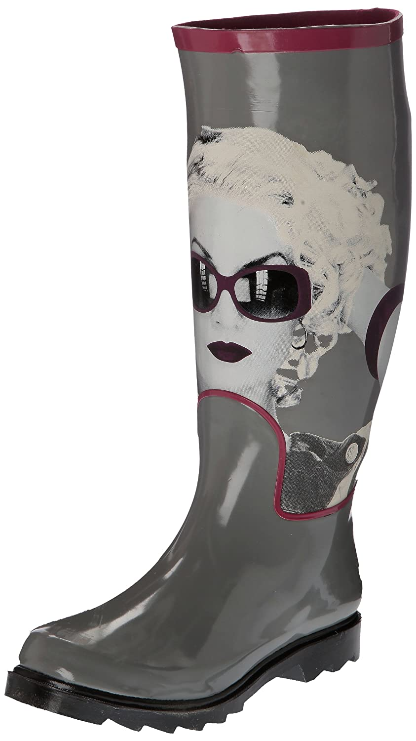 Be Only Marylyn - Botas de caucho mujer Gris  Gris