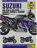 Suzuki GSX-R750, GSX-R1100, GSX600F, GSX750F and GSX1100F Haynes Repair Manual covering GSX-R750 & GSX-R1100 for 86-92, GSX600F Katana 88-96, GSX750F ... in 1992) (Haynes Service & Repair Manual)