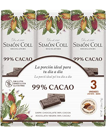 Chocolates Simón Coll Chocolate 99% Cacao - 16 Unidades