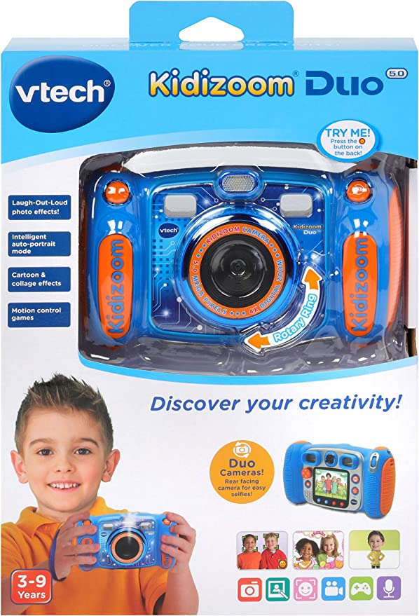 assumere 5 megapixel le foto + Video Vtech Kidizoom Fotocamera Duo 5.0 ROSA