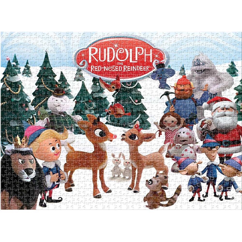 Rudolph The Red-Nosed Reindeer 1,000Pc Puzzle