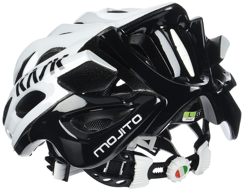 Kask - Mojito 16 - Casco para Bicicleta, Adultos, Blanco/Negro, M (52-58 cm): Amazon.es: Deportes y aire libre