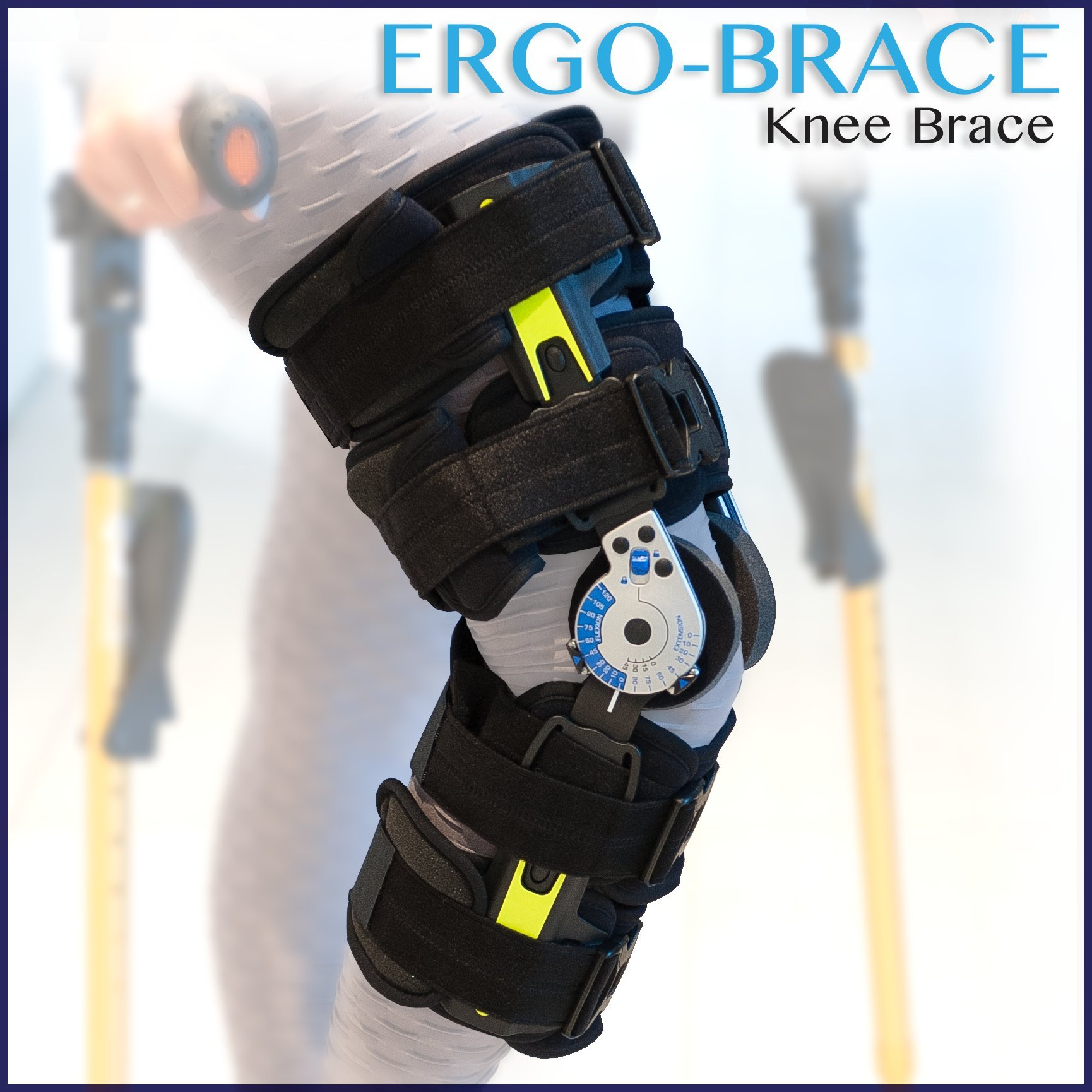 Ergoactives ErgoBrace G1 KPA Post Op Knee Brace by Ergoactives
