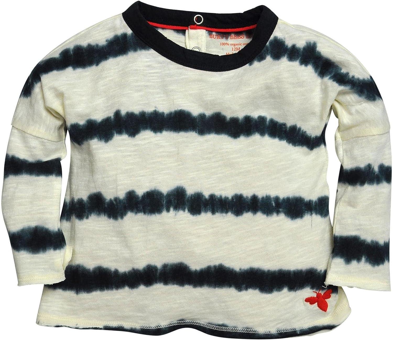 Burts Bees Baby Baby Girls Tie Dye Stripe Tunic Ivory-24 Months