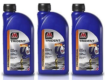 Millers Oils Trident 5W40 - Aceite de Motor (3 L): Amazon.es: Coche y moto