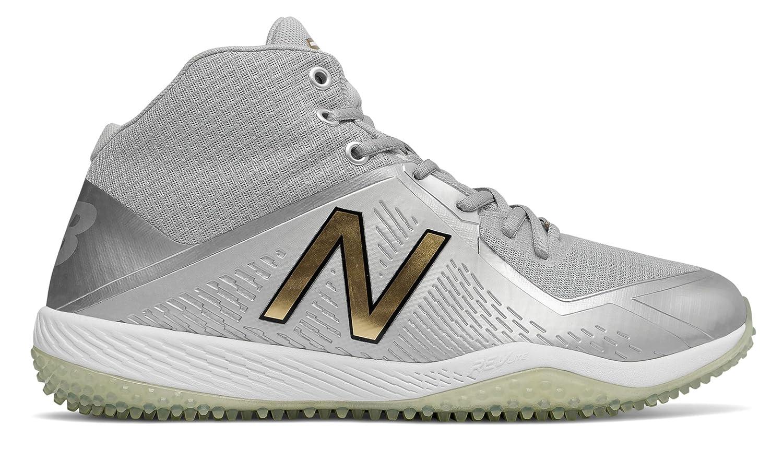 (ニューバランス) New Balance 靴シューズ メンズ野球 New Balance x Stance Turf 4040v4 Silver with Black シルバー ブラック US 8.5 (26.5cm) B076DFBJ1W