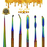 Stainless Steel Wax Carvers Tools - Carving Tool Spatula Phenomenal Multi Colored Set All Pieces Double Ended Jewelry Wax Kit Natural Mystic USA Brand