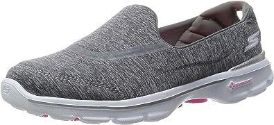 Alegre Voluntario Hueco  Amazon.com: Skechers Performance Go Walk 3 Reboot zapatilla sin cordones  para caminar para mujer: Shoes