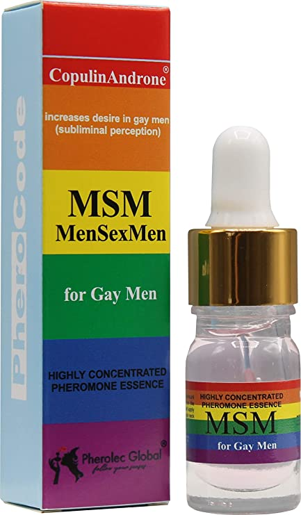 Gay Male Pheromone Cologne UNSCENTED