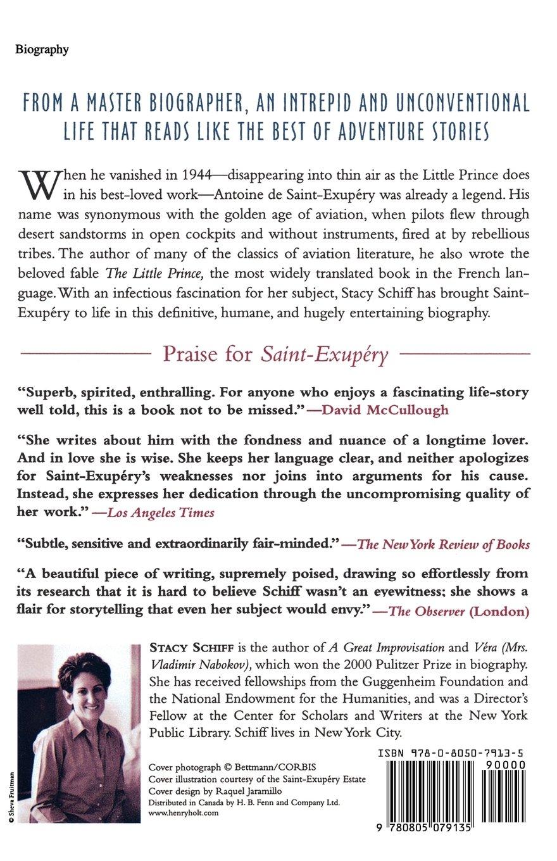 Amazon: Saintexupery: A Biography (9780805079135): Stacy Schiff: Books