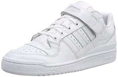 new concept f9bcc a6ba1 adidas Forum Lo Refined, Chaussures de Fitness Homme, Blanc FtwblaNegbas  000,