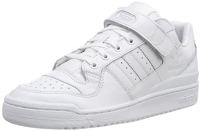 adidas Herren Forum Lo Refined Gymnastikschuhe Bianco