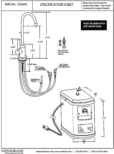 Water Tank Drawing