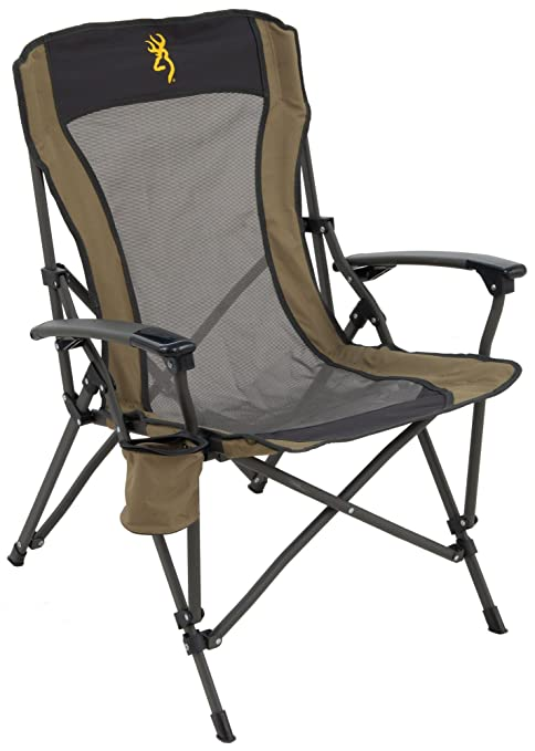 Browning Camping Fireside Chair - 8517114, Gold Logo