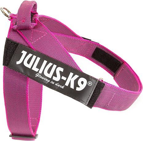 Julius-K9 Arnés de Correa Color & Gray, Talla: 1, Rosado-Gris ...