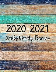 2020-2021 Planner: Jan 2020 - Dec 2021 2 Year Daily Weekly Monthly Calendar Planner W/ To Do List Academic Schedule Agenda L
