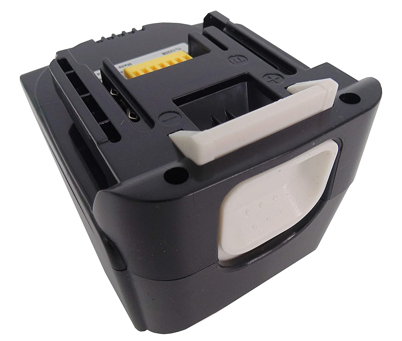Bater/ía para herramientas 14,4 V, ion de litio, 3 Ah, 3000 mAh, para Makita BL1430, BL1430B, BL1415, BL1440, BL1450, 195444-8, 196388-5, con luces LED