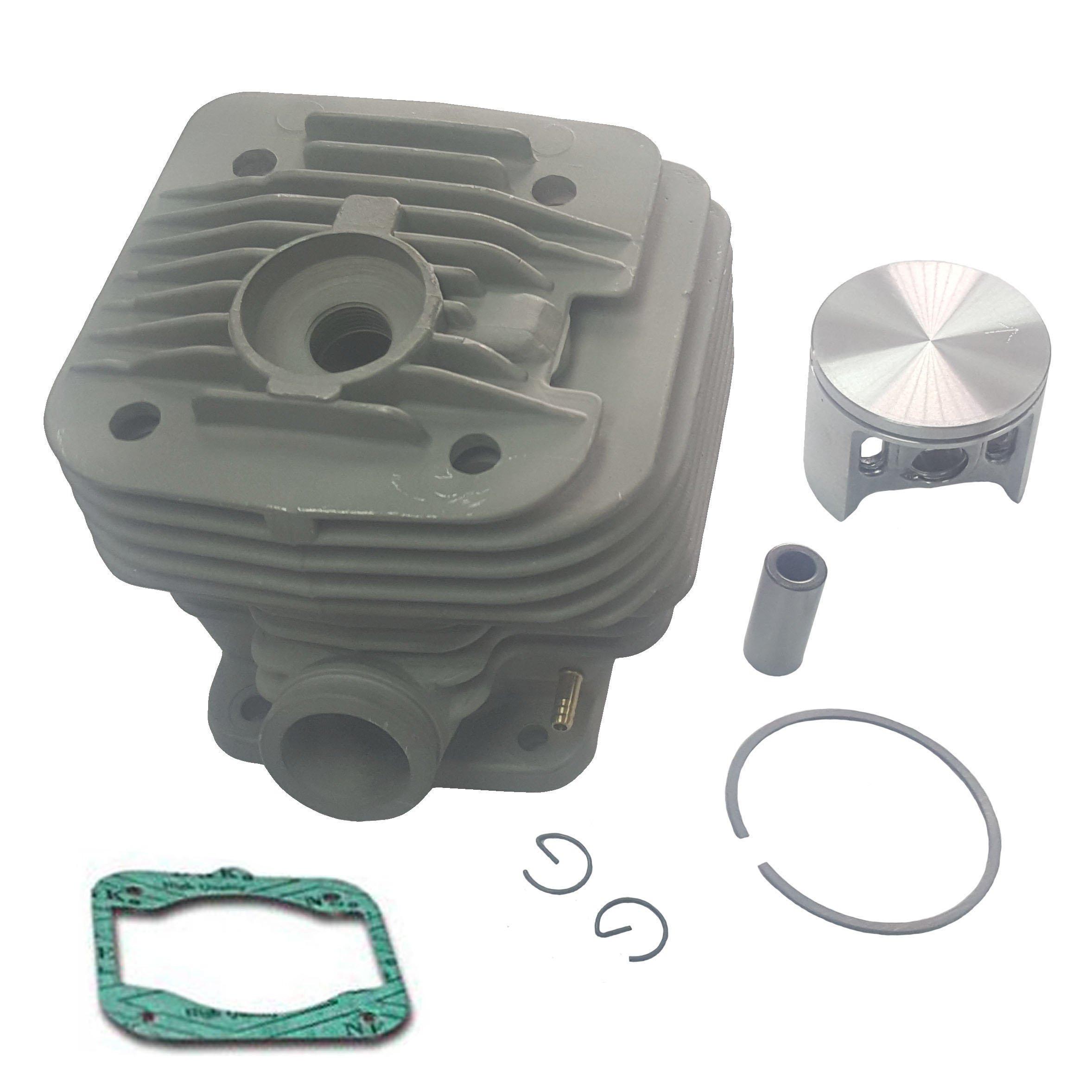 Makita Cylinder Piston Kit + Gasket Makita DPC7300, DPC7301, DPC7310, DPC7311 , Dolmar 7300, 7311 Concrete Cut off Saw Nikasil