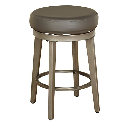 Angelo HOME Linden Swivel Stool Set of 2, 24-inch