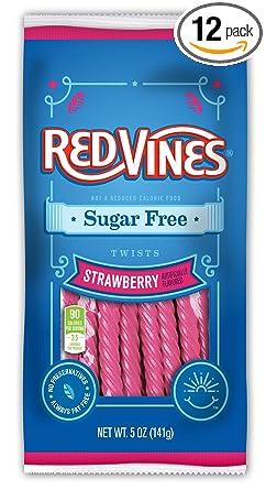 Regaliz sin azúcar Red Vines, bolsas de 5 onzas ...