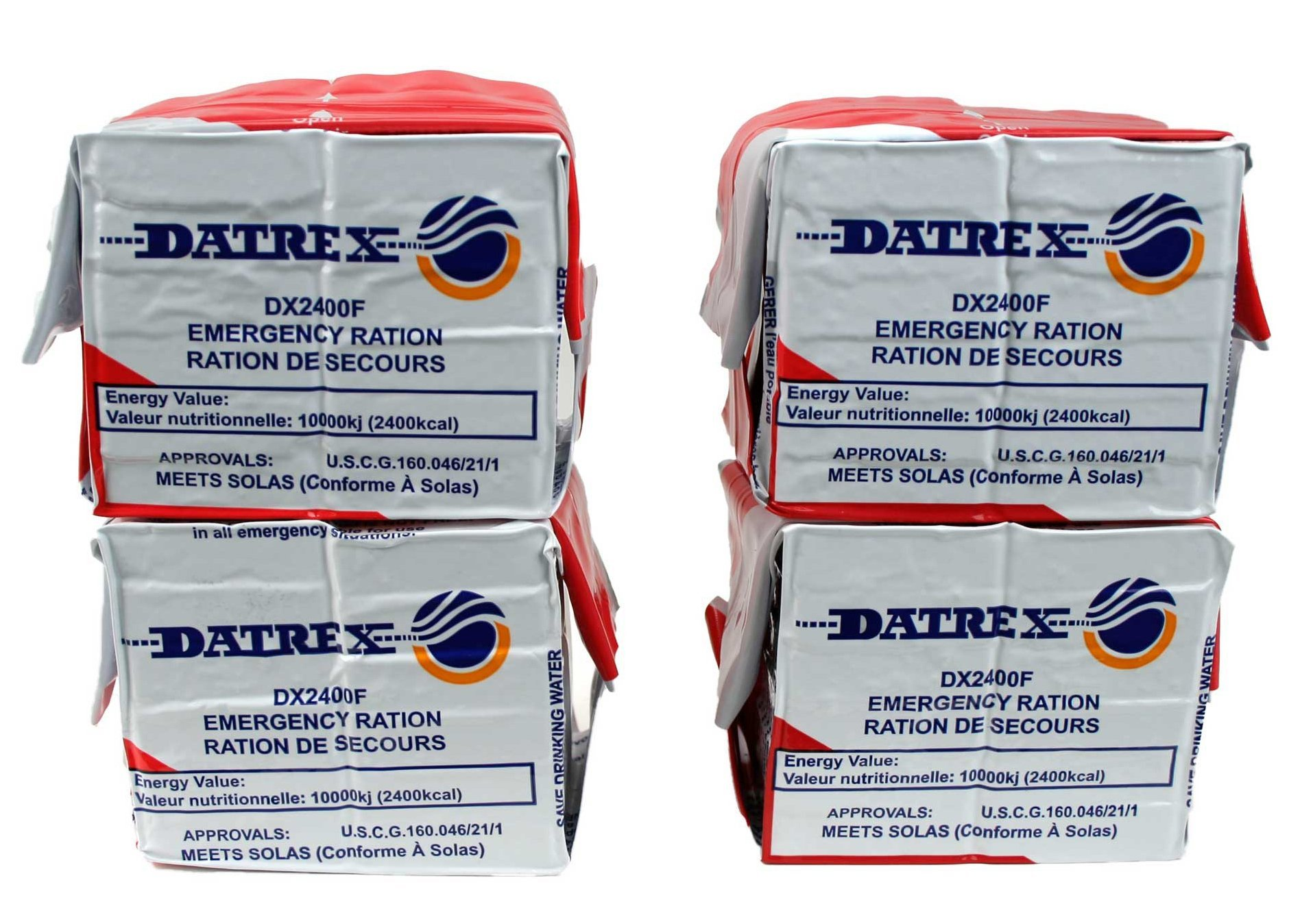 Datrex Emergency Survival 2400 Calorie Food Ration Bars (Pack of 10), 120 Bars by Datrex