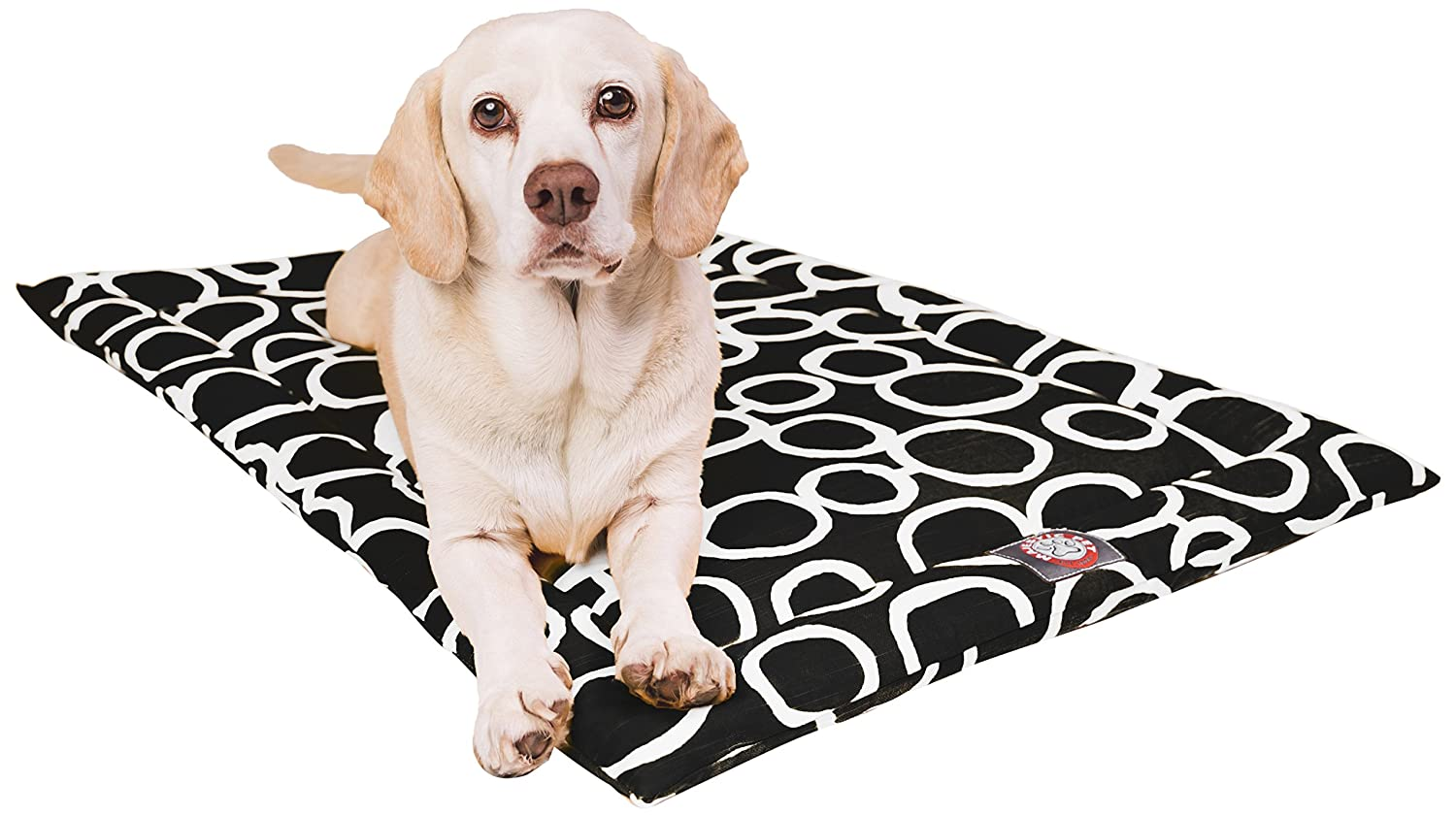 30  Fusion Black Crate Dog Bed Mat by Majestic Pet Products