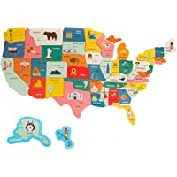 Imagination Generation XL Fifty-Nifty States Magnet Puzzle | Over 2-Foot Magnetic USA Map | Teach Early Learning US…