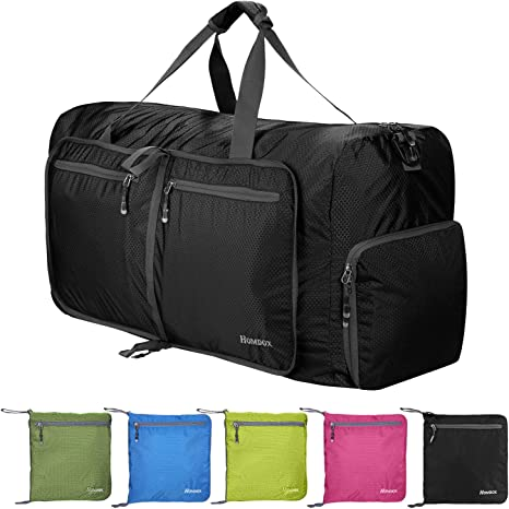 so cheap classic fit stable quality Sailnovo 80L Foldable Duffle Bag, Lightweight Travel Bag for Shopping Gym  Sport Camping, Extra Large Strong Storage Bag