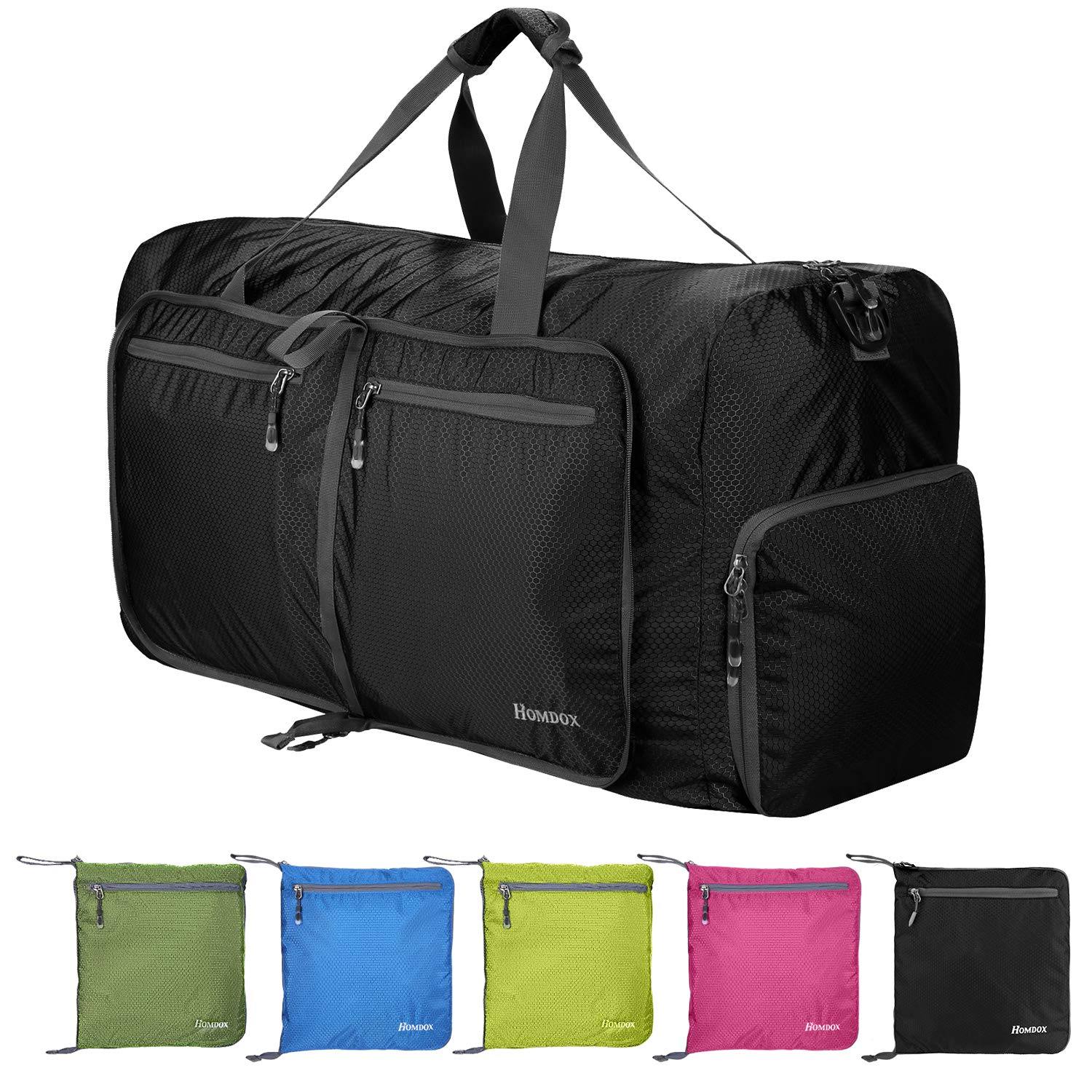 bf3635c17 Homdox 80L Duffle Bag Large Foldable Lightweight Waterproof Duffel Bag for  Camping,Rolling Packable Large Gym Duffle Bags for Men Women,Luggage Bags  for ...
