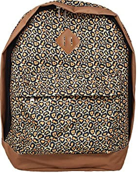 1f7546834a Image Unavailable. Image not available for. Colour  Girls - Leopard Print  Backpack ...