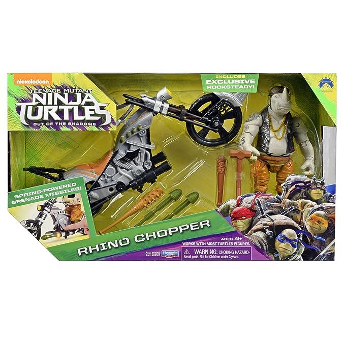 Giochi Preziosi Tortuga Ninja Movie 2 Moto + Figura ...