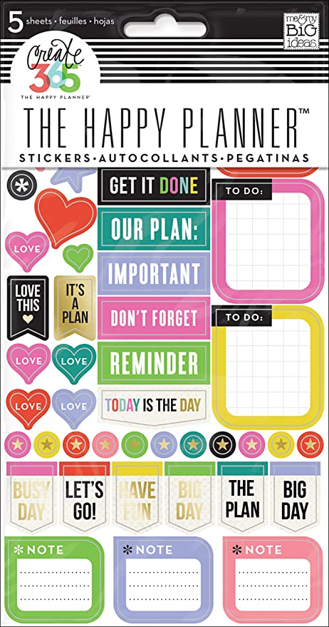 Me my big ideas everyday reminders stickers