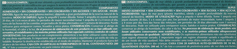 Intersa Oligocomplex 20Amp. Biopole 1 Unidad 300 g: Amazon.es ...