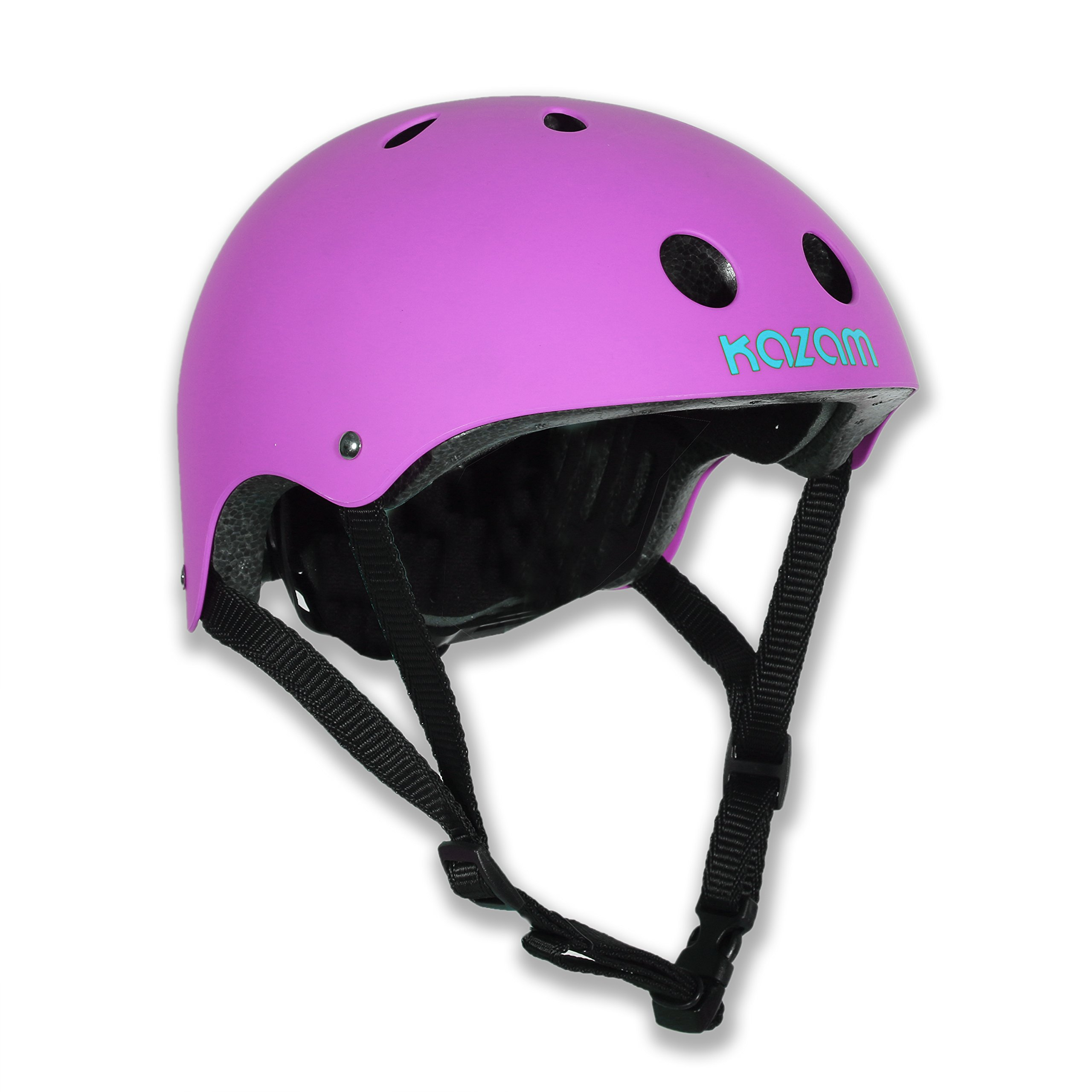 KaZAM Kids Multi-Sport Helmet, Electric Purple
