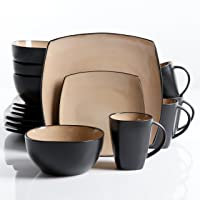 Deals on 16-Pcs Gibson Elite Soho Lounge Reactive Glaze Dinnerware Set