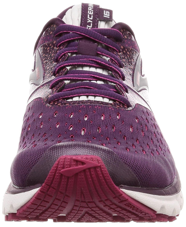 Brooks Womens Glycerin 16 B077KFDT87 5 B(M) US|Purple/Pink/Grey