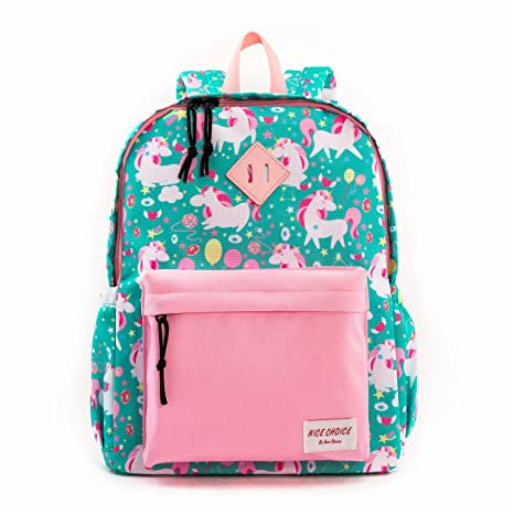 e2794162d019 Preschool Backpack Little Kid Toddler Backpacks for Boys and Girls with  Chest Strap (Unicorn)