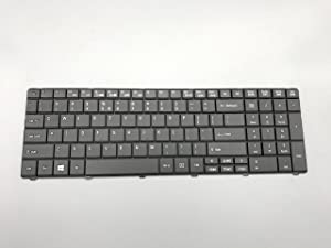 Moon2020 New Black Notebook US Keyboard for Acer Aspire E1-521 E1-531 E1-531G E1-571 E1-571G & for Gateway NE56 NE56R NE51B U00310 V121046AS1 PK130C92A00 9Z.N3M82.11D