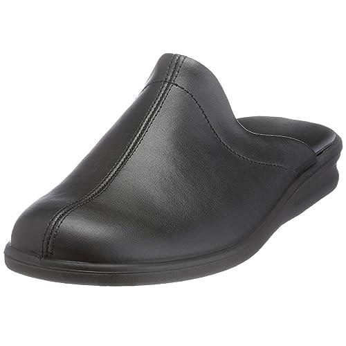 Romika PRESIDENT 20 Schwarz Schuhe Hausschuhe Herren 50