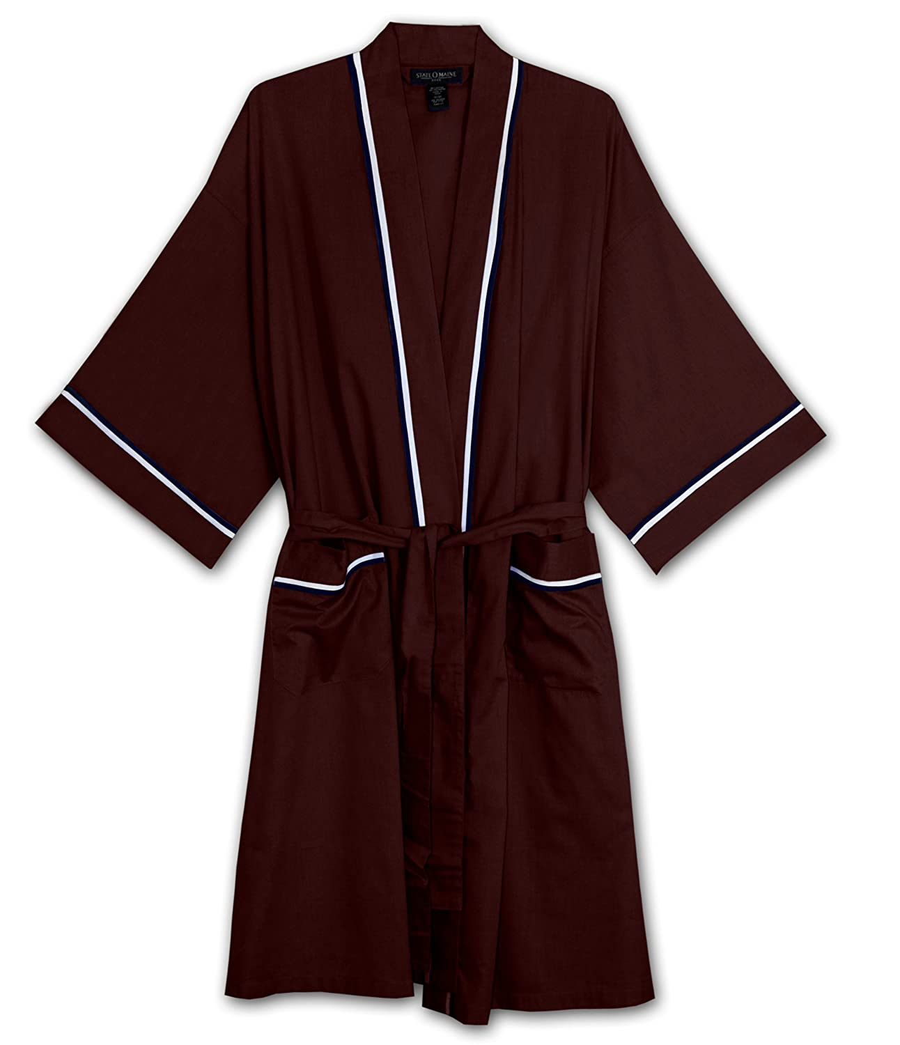 Knothe State O Maine Big and Tall Light Weight Broadcloth Robe