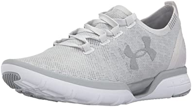 Under Armour Womens Charged CoolSwitch Running Shoe Glacier (002)/Overcast Gray, ...