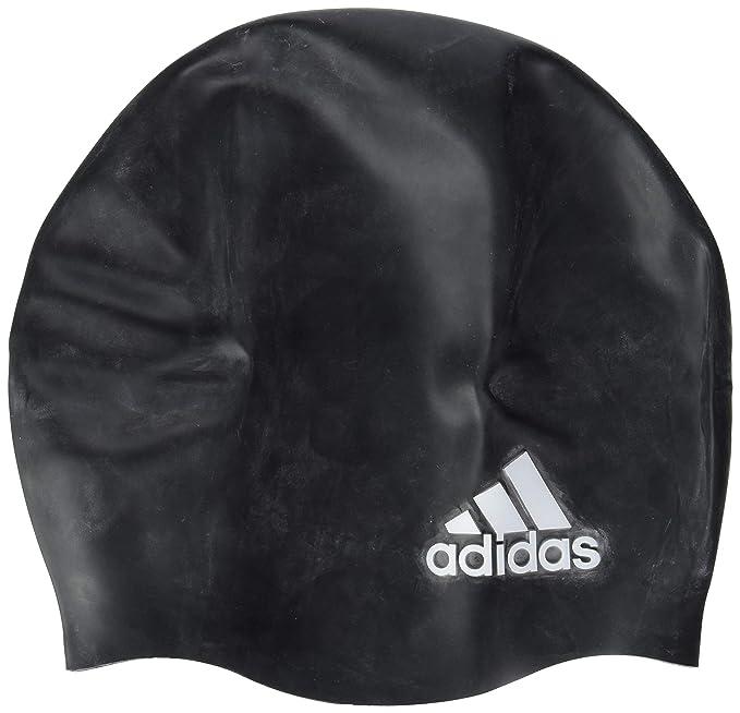 Adidas Gorra Adidas Sil Logo 1Pc Gorra Natación para Hombre Negro Talla  Unitalla 8ff676ae099
