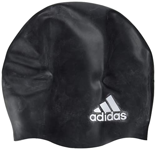 257cd77d6030 adidas 802316 Swimming Cap Mixte Adulte, Black White, FR Unique (Taille  Fabricant   NS)  Amazon.fr  Sports et Loisirs