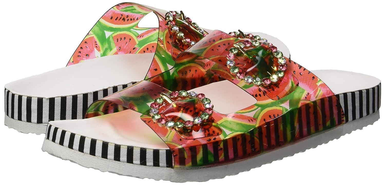 Betsey Johnson Womens Misty Slide Sandal MIST01S5