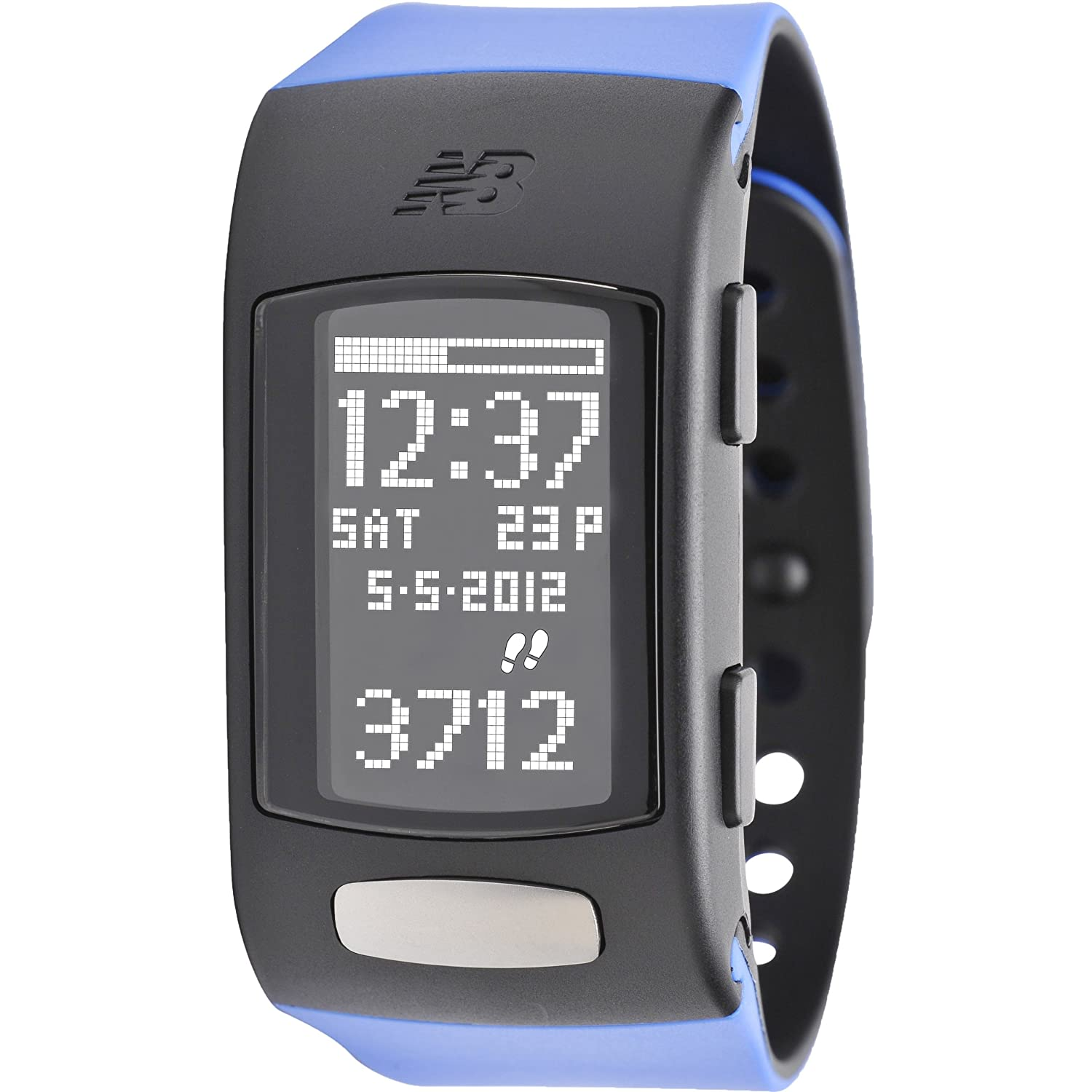 Amazon.com : New Balance LifeTRNr Heart Rate Calorie Monitor, Blue ...