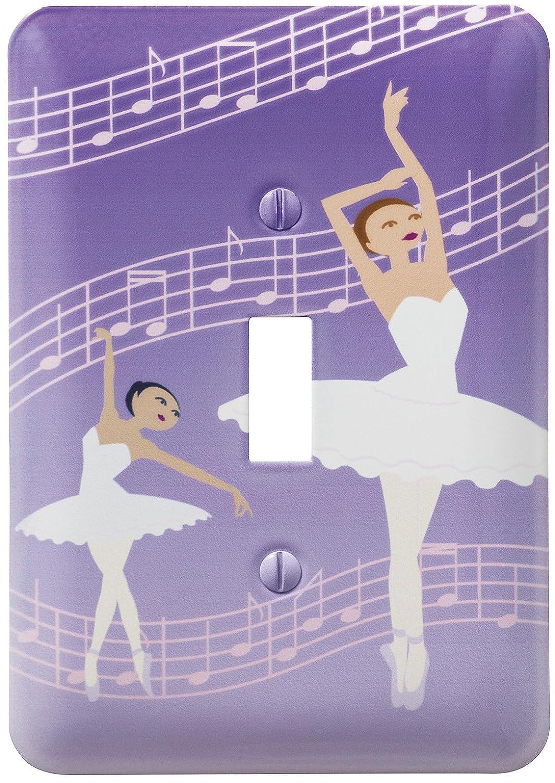Amerelle 1828R 1 Rocker Dancing Ballerina Wallplate