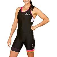 SLS3 Women`s Triathlon Suit FRT | Womens Trisuit | Back Pocket Triathlon Suits Women | Anti-Friction Seams Tri Suit for Women | German Designed