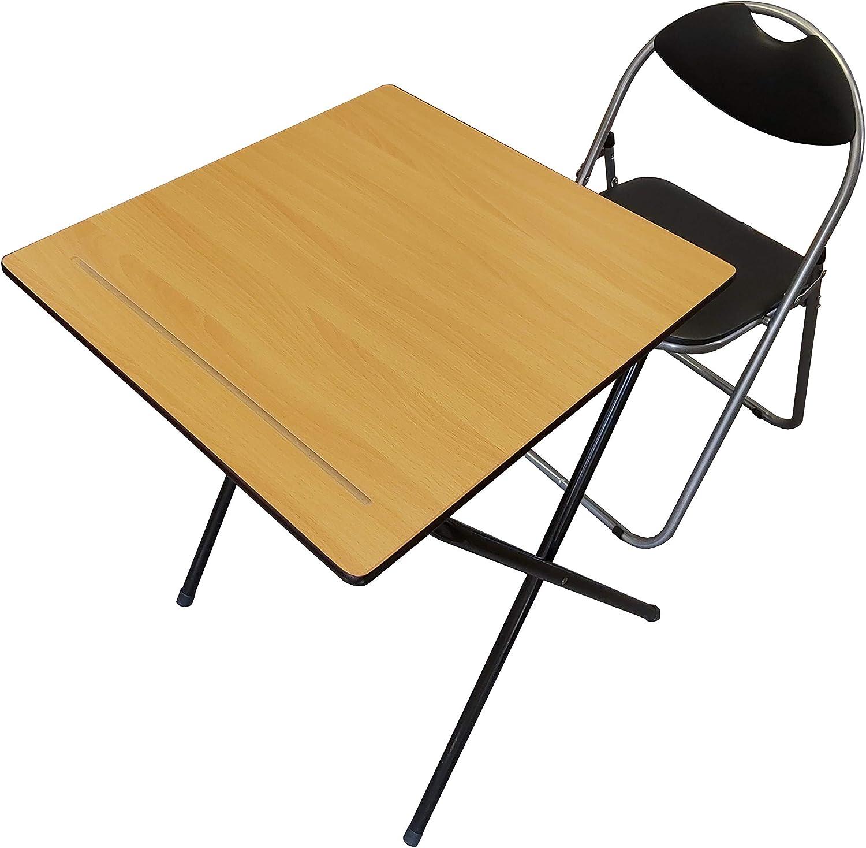 Table pliante pour ordinateur portable et bureau d'examen